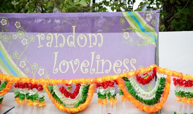 Random Loveliness sign