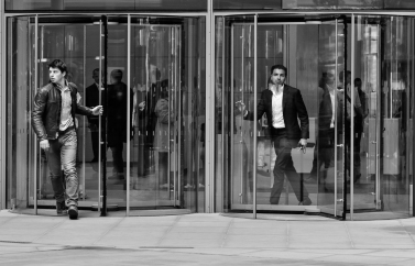 Revolving Doors at the End of the Day 2 (1 of 1)